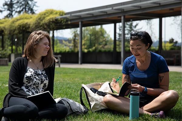 University of Oregon College of Education grad students