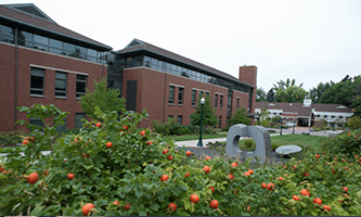 view of outside of the UO College of Education building
