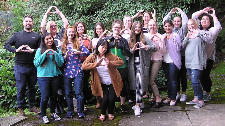 University of Oregon College of Education SPED EI 2019 Cohort